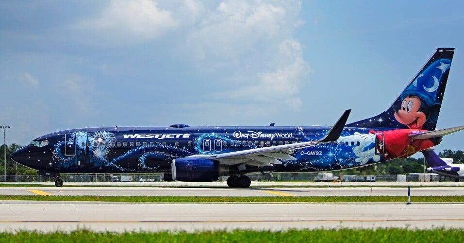 Avião da Disney em Orlando