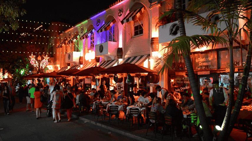 Orlando em alta temporada: noite