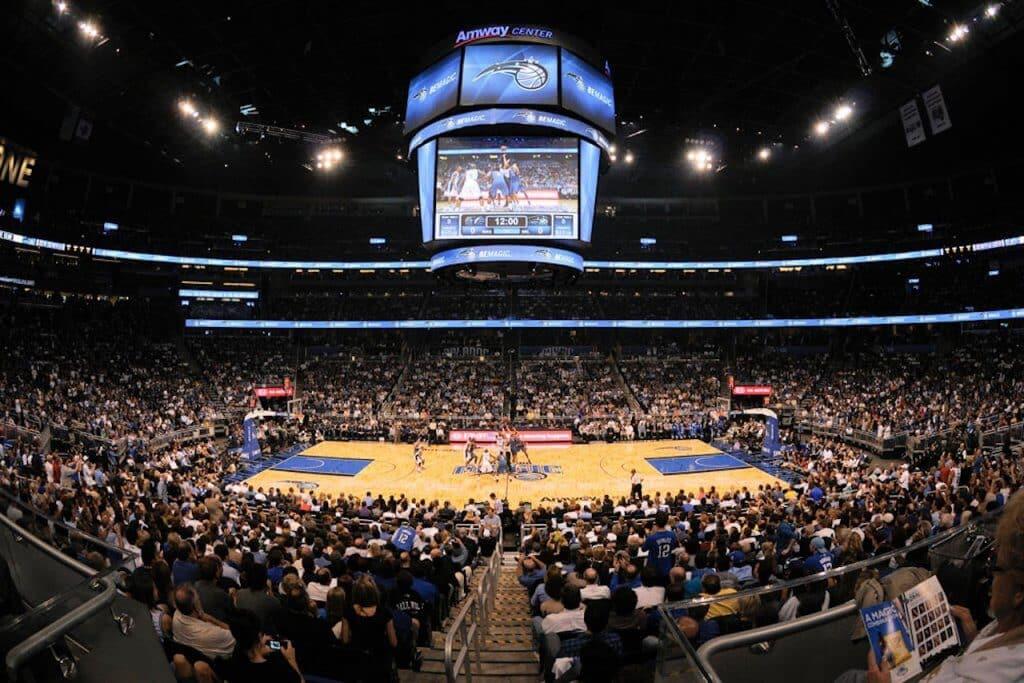 Arena de basquete em Orlando