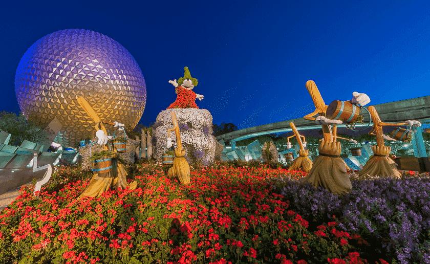 Disney's Flower and Garden Festival em Orlando
