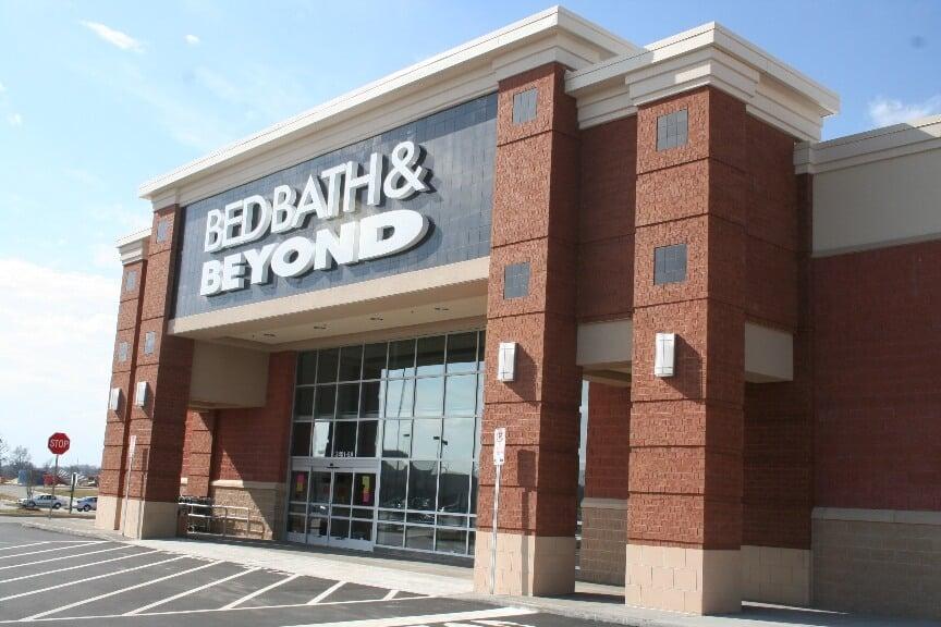 Frente da Loja Bed, Bath & Beyond em Orlando e Miami