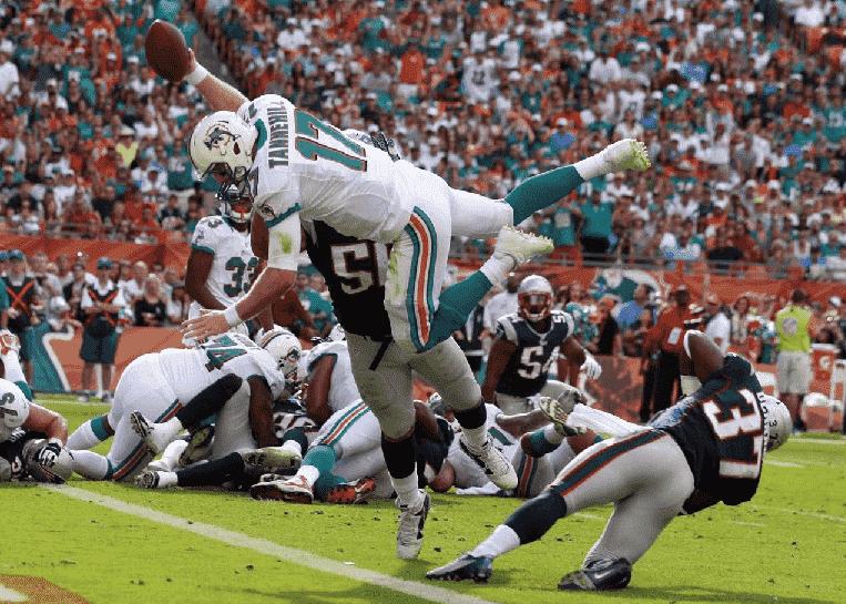 Jogosdo Miami Dolphins na NFL em Miami