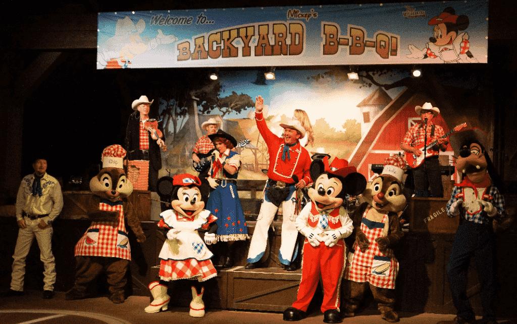 Show do Churrasco Mickey's BBQ na Disney em Orlando