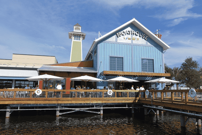 Restaurante The Boat House no Disney Springs