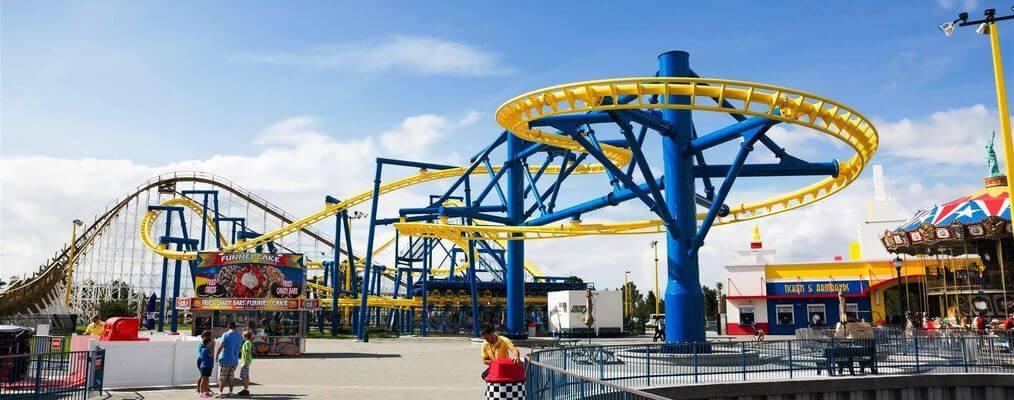 Atração do Parque Fun Spot em Orlando