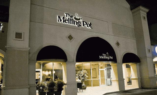 Entrada do Restaurante Melting Pot em Orlando