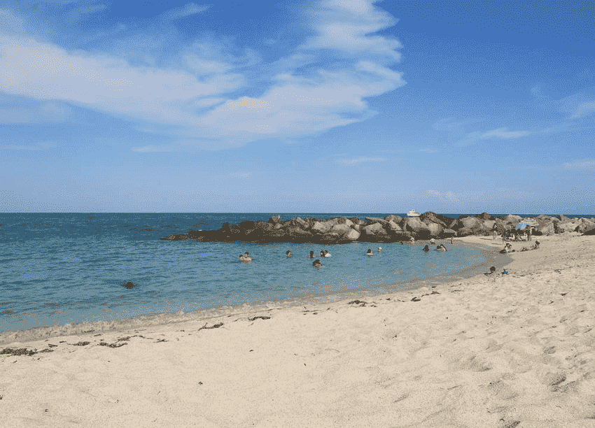 Haulover Beach Park em Miami