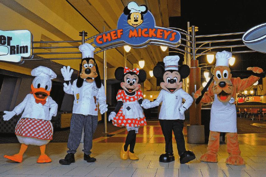 Chef Mickey's em Orlando