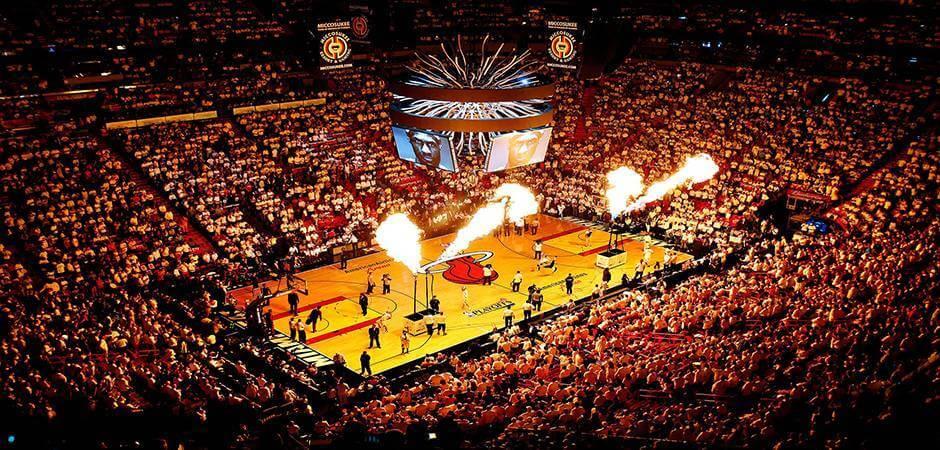 Jogo de Basquete NBA - Miami Heats