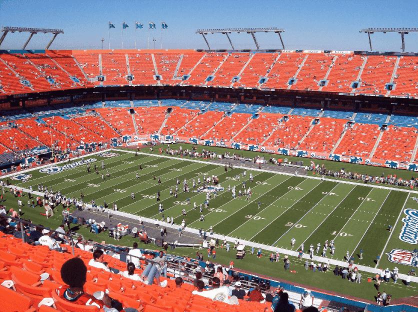 Assistir jogos da NFL em Miami