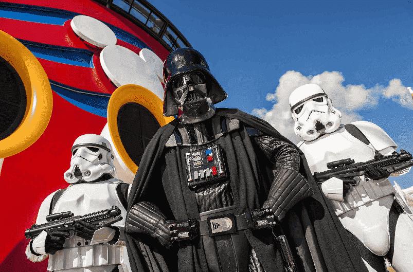 Personagens de Star Wars na Disney