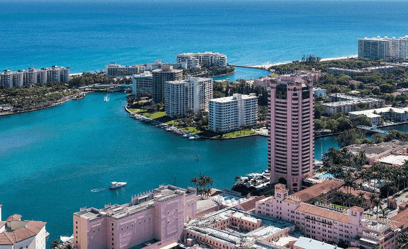 Planejamento de onde ficar hospedado em Miami