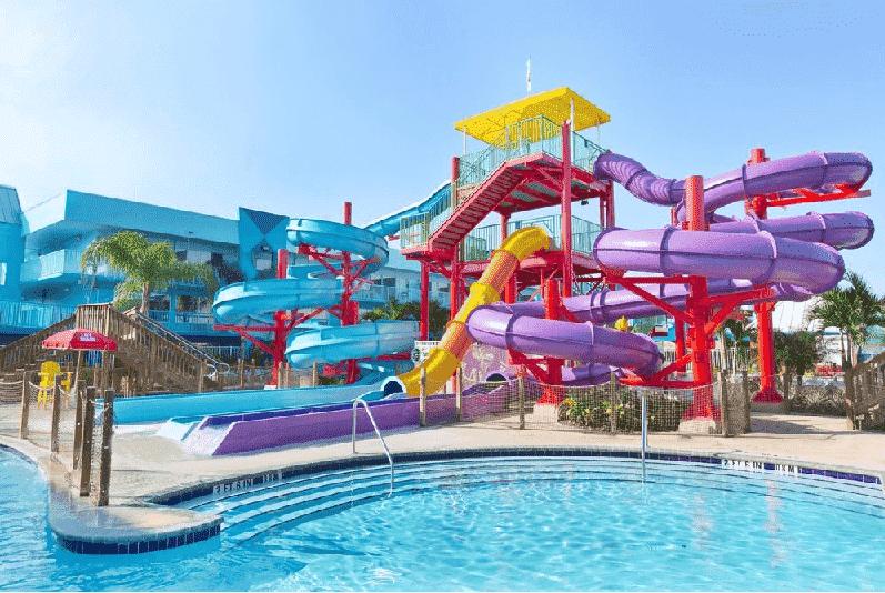 Hotel Clarion (Flamingo) Resort Waterpark em Orlando