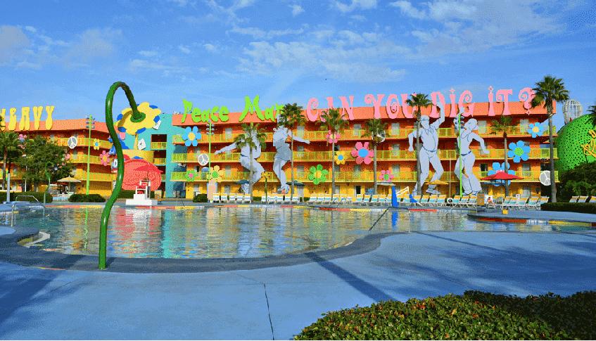 Hotel da Disney World em Orlando