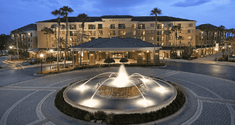 Hotel Courtyard by Marriott no Lake Buena Vista em Orlando