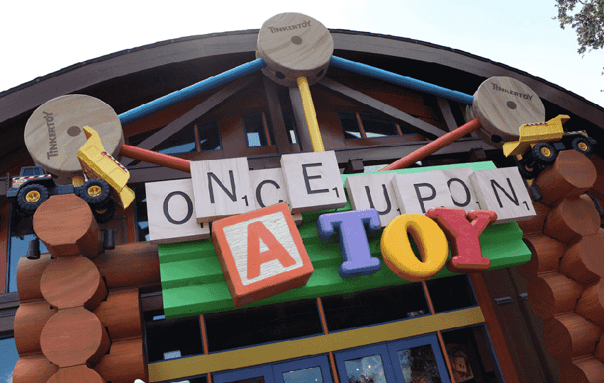 Loja Once Upon a Toy no Disney Springs em Orlando