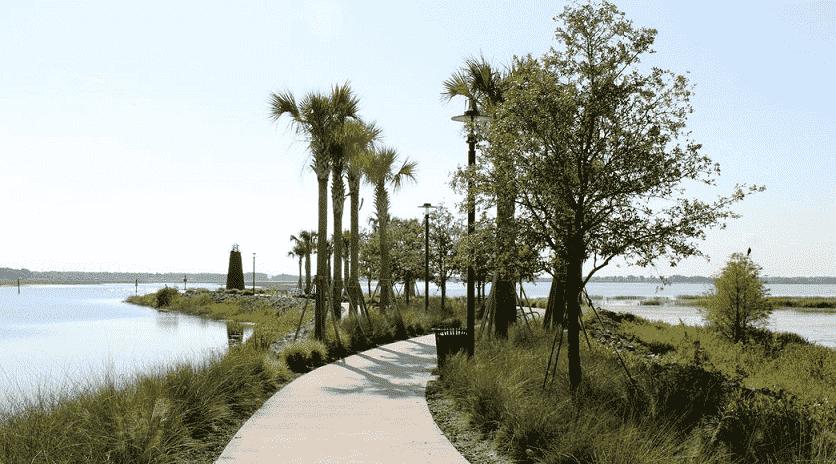 Lakefront Park em Orlando