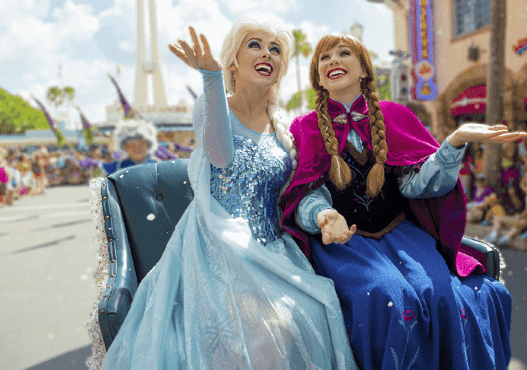 Mickey's Royal Friendship Faire na Disney: Frozen
