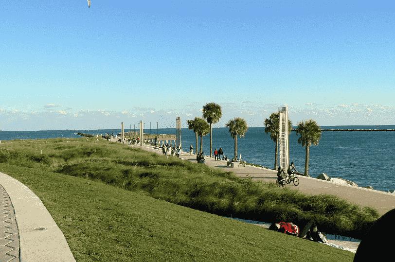 South Pointe Park Beach em Miami