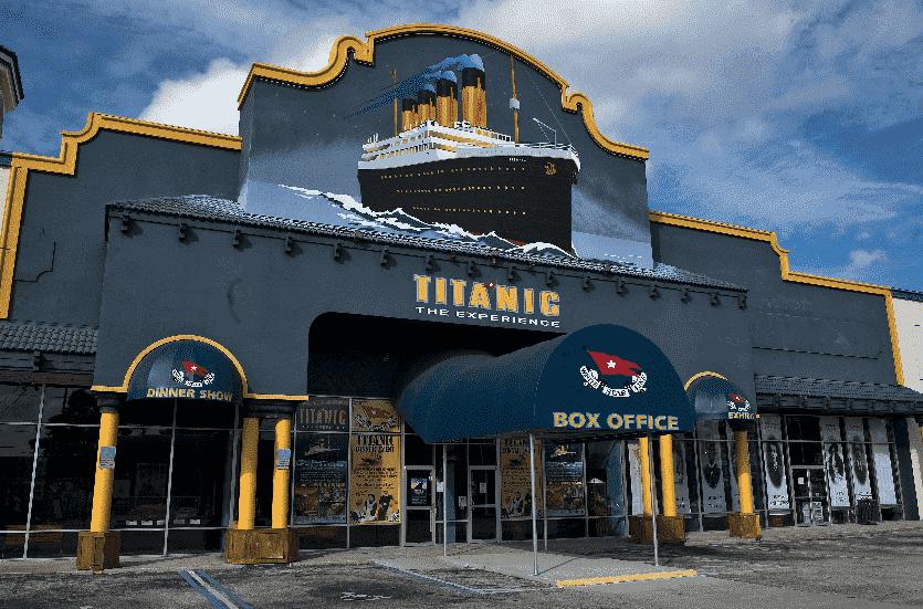 Titanic – The Experience em Orlando