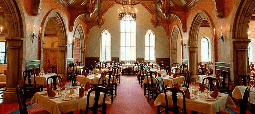 Restaurante Akershus Royal Banquet Hall no Epcot na Disney em Orlando
