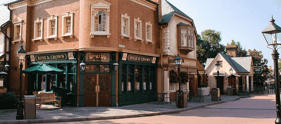 Restaurante Rose & Crown Pub & Dining Room na Disney em Orlando
