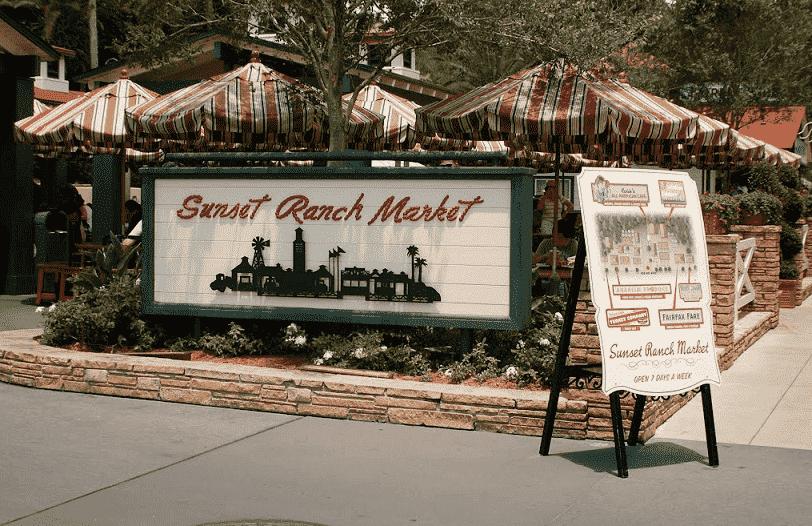 Restaurante Sunset Ranch Market no Holywood Studios em Orlando