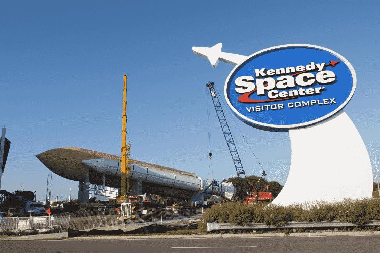 Kennedy Space Center em Orlando: entrada
