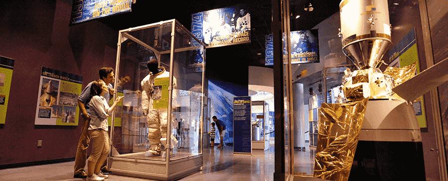 Early Space Exploration no Kennedy Space Center em Orlando