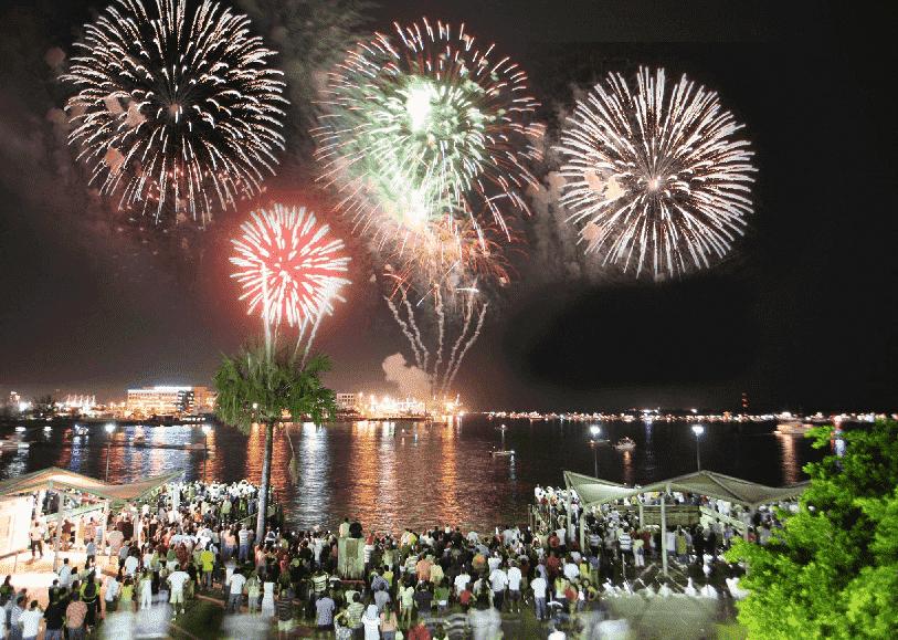 Ano-novo em Miami