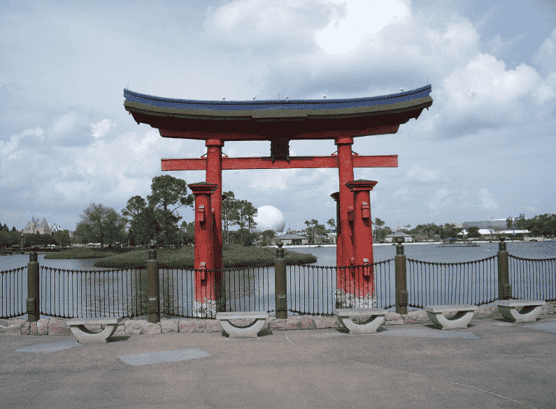 Pavilhão do Japão em Orlando