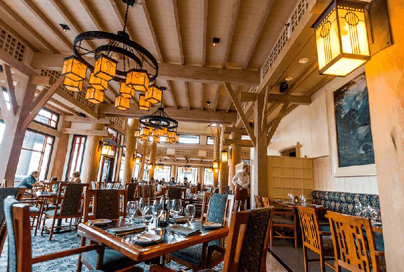 Restaurante Artist Point na Disney em Orlando