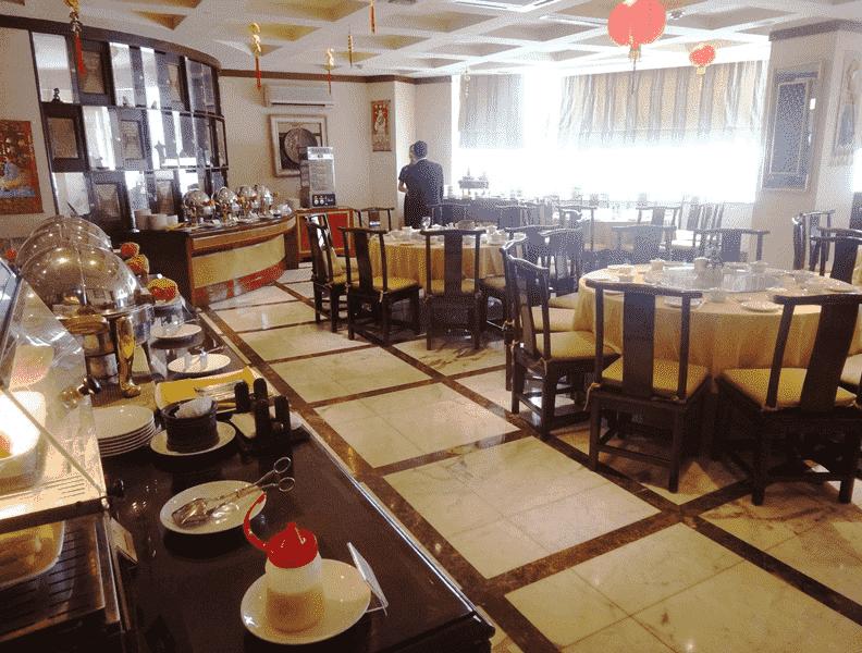 Restaurante Dragon Court Chinese Buffet na Disney em Orlando