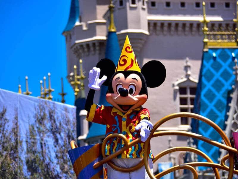 Parque Magic Kingdom na Disney em Orlando