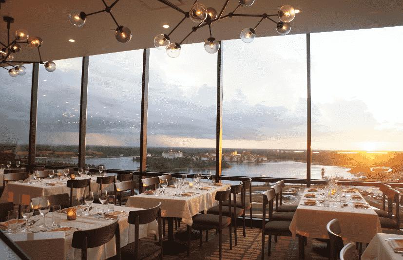 Restaurante California Grill em Orlando
