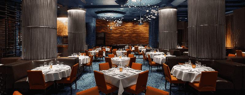 Restaurante Todd English's Bluezoo em Orlando