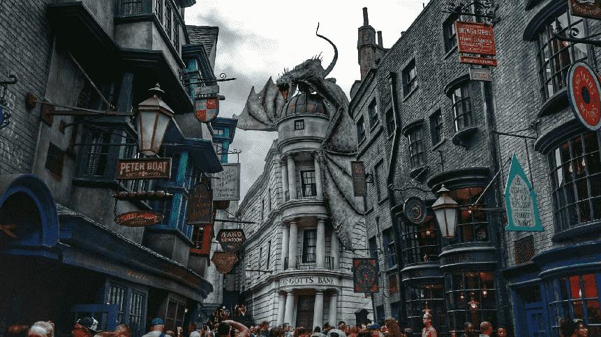 Beco Diagonal do Harry Potter em Orlando
