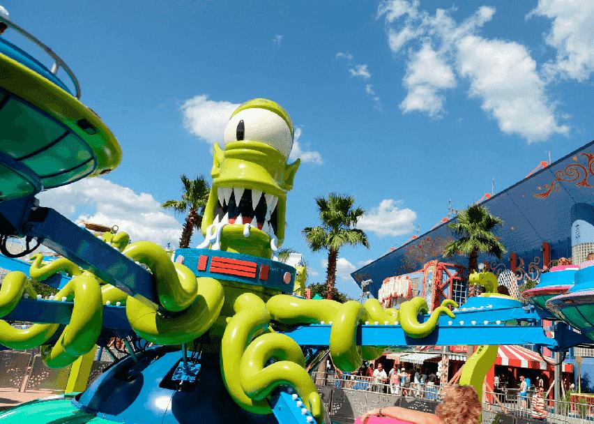 Parque dos Simpsons na Universal