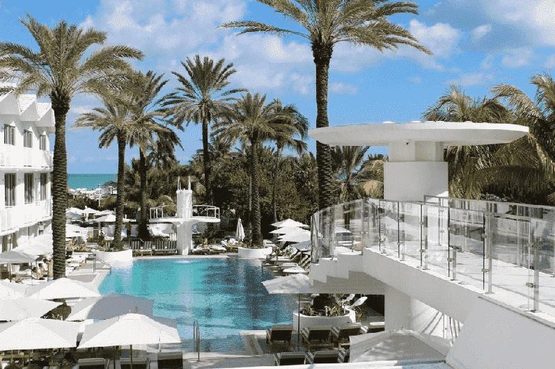 Hotel Shelborne Resort em South Beach em Miami