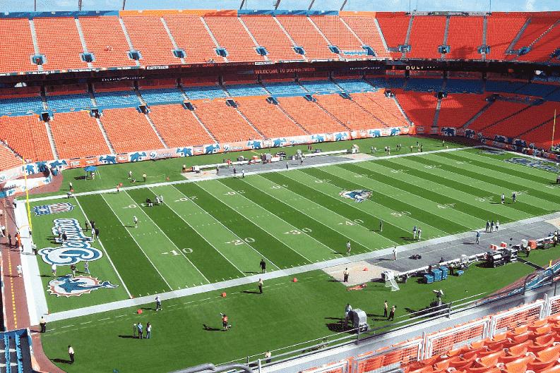 Arena de jogos do Miami Dolphins e NFL