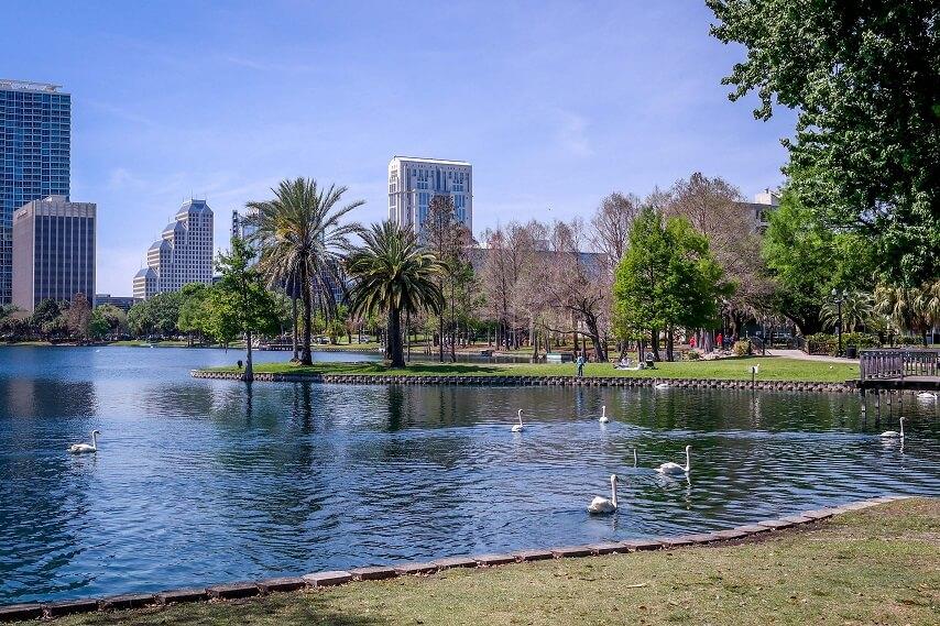 Parques com crianças em Orlando