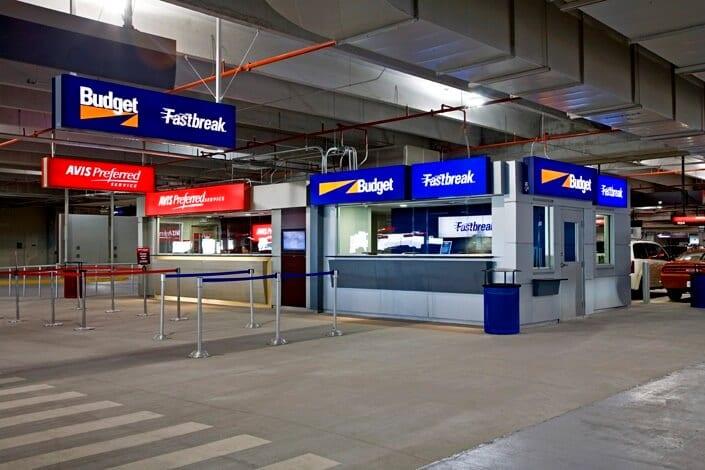 Aluguel de carro no aeroporto de Miami