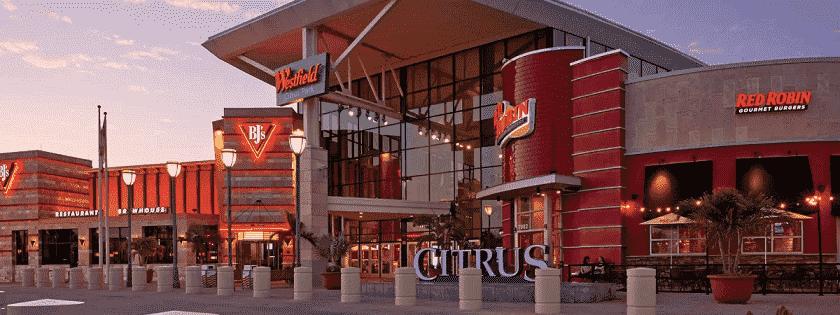 Shopping Westfield Citrus Park em Tampa