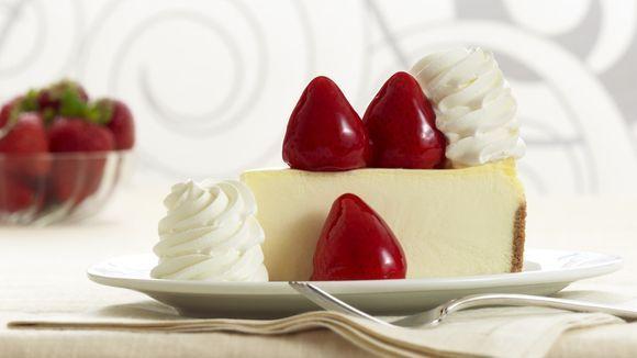 Cheesecake da Cheesecake Factory em Orlando