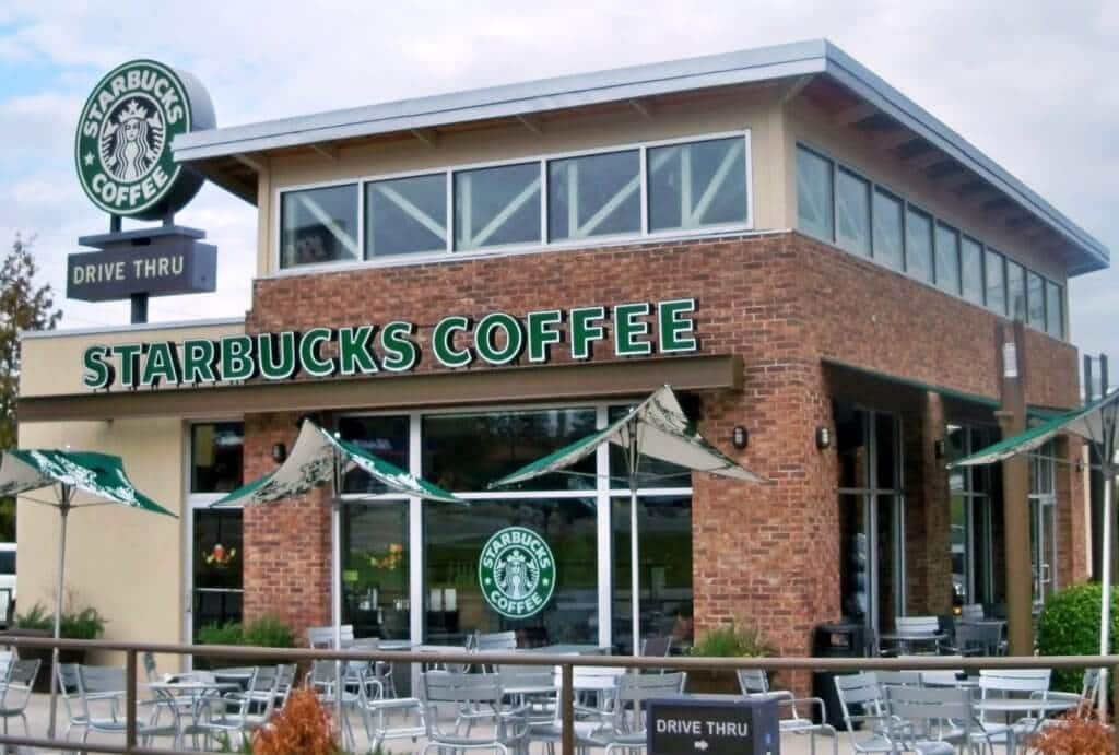 Restaurante Starbucks Café em Miami e Orlando