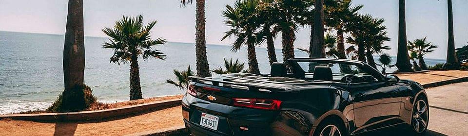 Viagem de carro pelas praias da costa oeste da Flórida