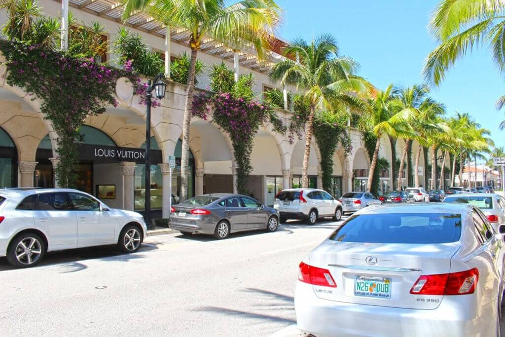 Worth Avenue em Palm Beach