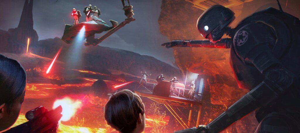 Simulação The Void: Experiência virtual de Star Wars em Orlando