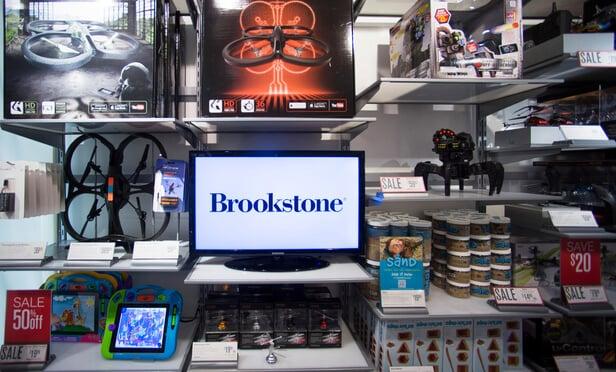 Produtos da loja de brinquedos Brookstone
