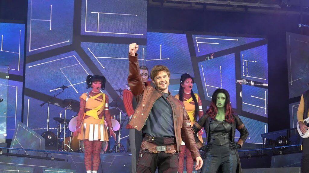 Show dos Guardiões da Galáxia na Disney em Orlando: The Guardians of the Galaxy - Awesome Mix Live!